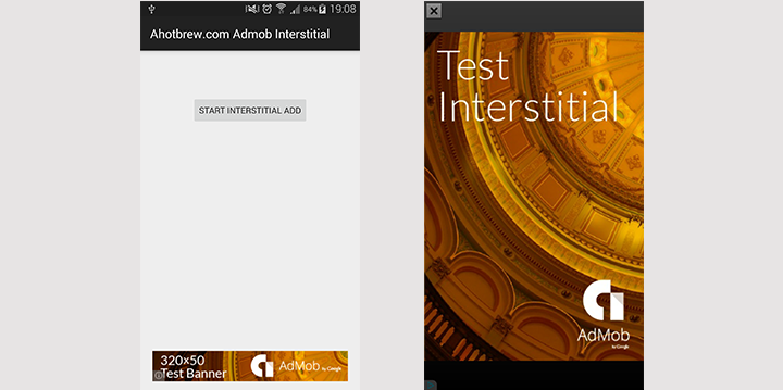Android Studio Admob Interstitial Tutorial