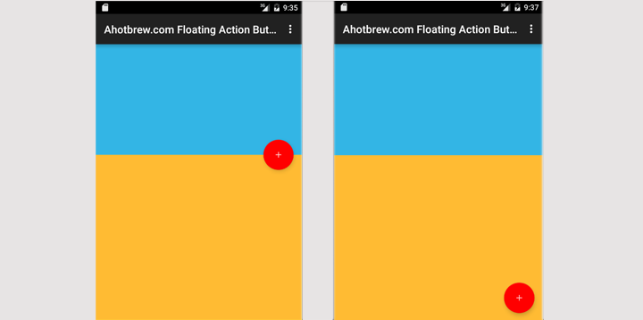 Android Floating Action Button